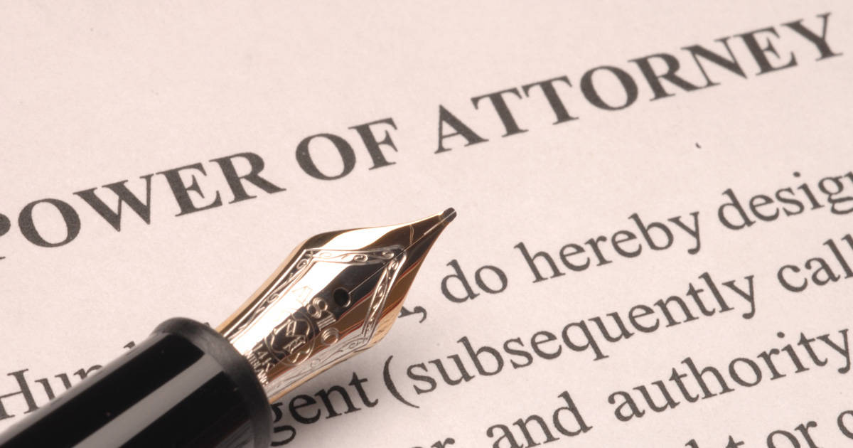 Scope of a Power of Attorney