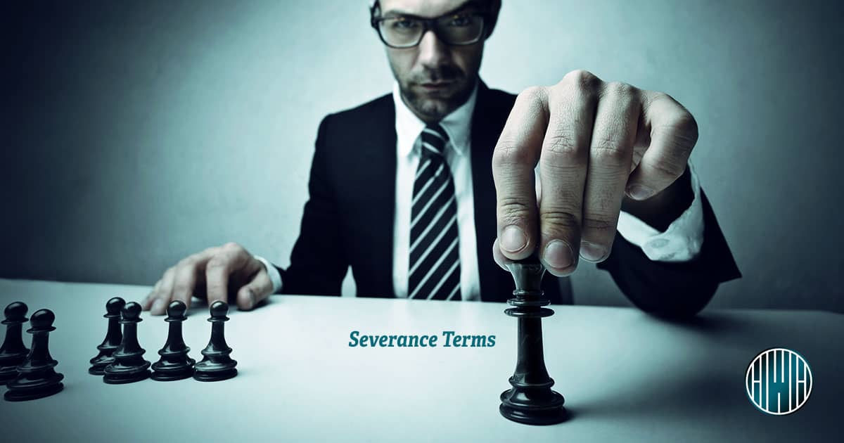 Time Limits, Non-Compete, and Soliciting Terms in a Severance Agreement