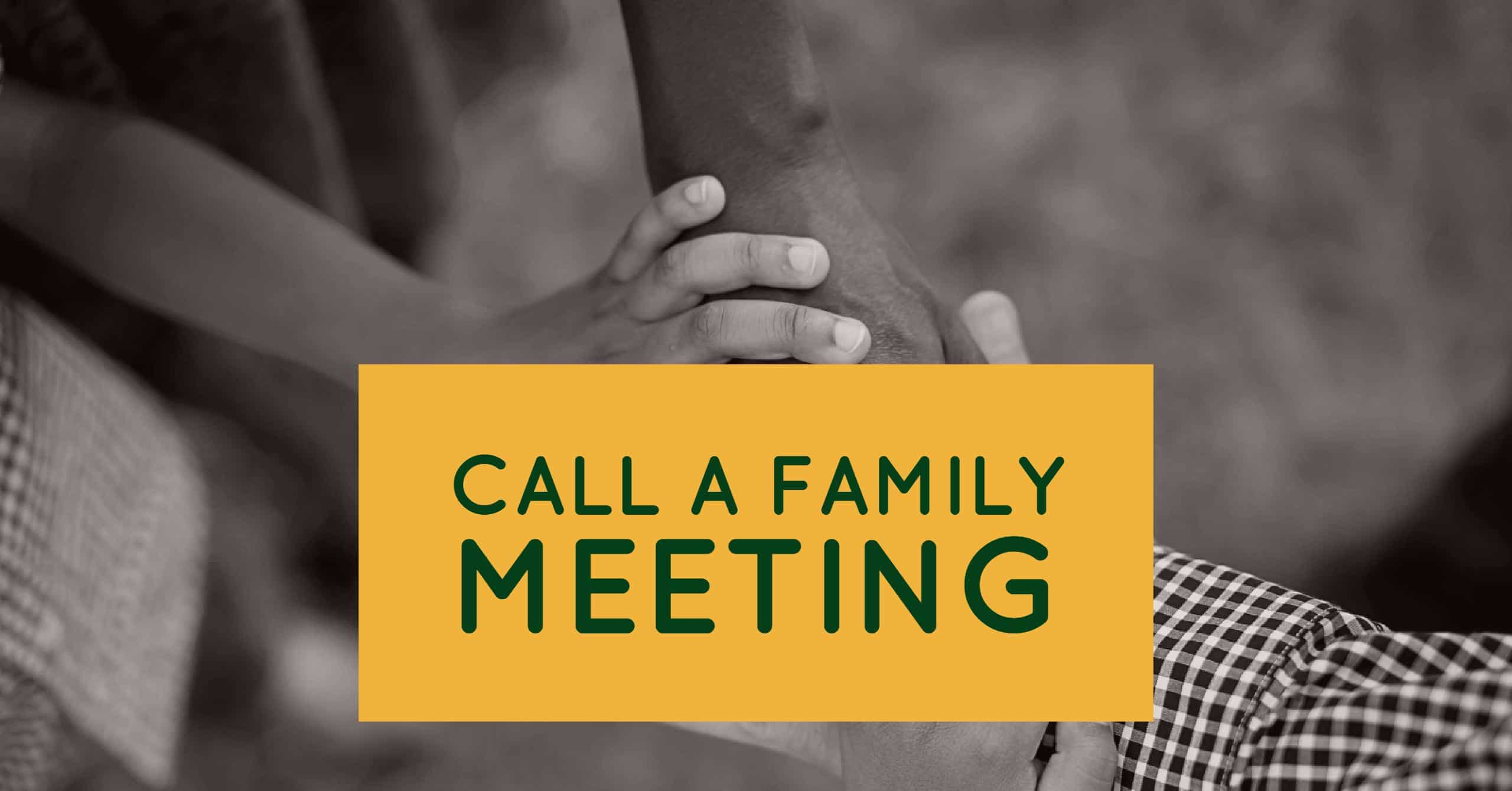 How to Hold a Family Meeting for Estate Planning
