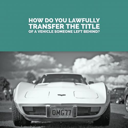 tranfer-car-title-after-death
