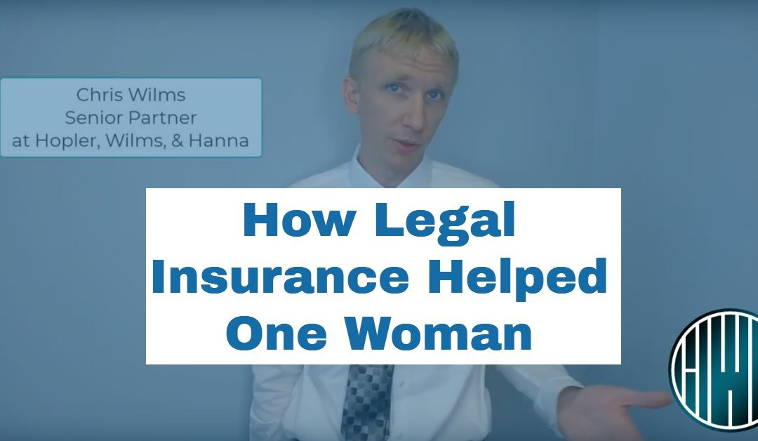 How Legal Insurance Came to One Woman's Rescue Without Costing Her Money