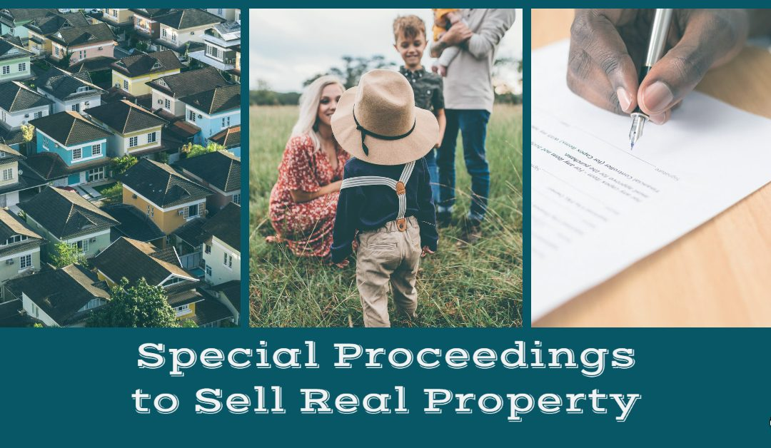 North Carolina Special Proceedings to Sell Real Property