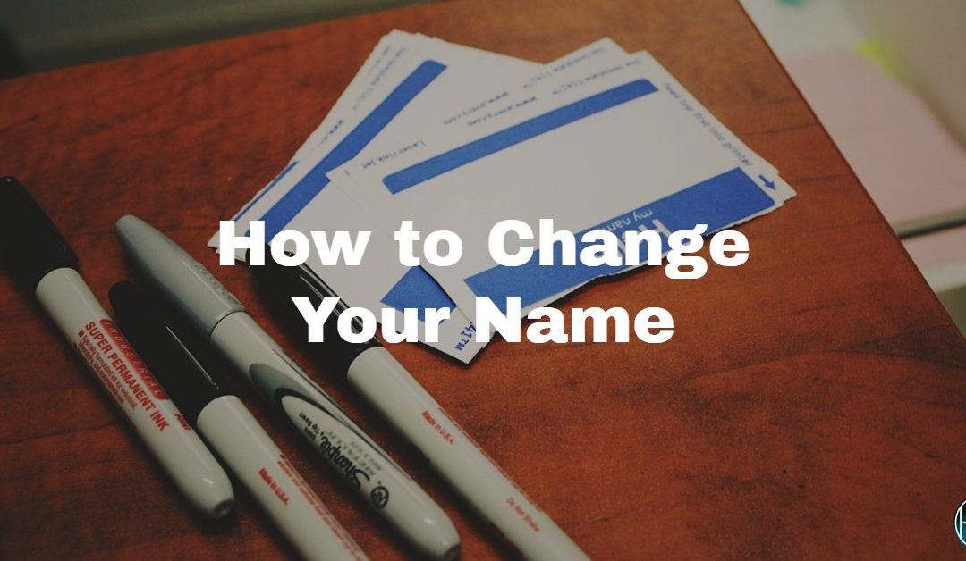 The Process for Name Change in North Carolina