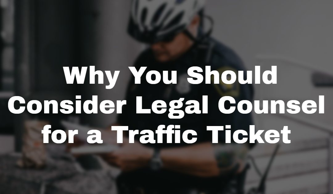 10 Reasons to Hire a Traffic Ticket Lawyer
