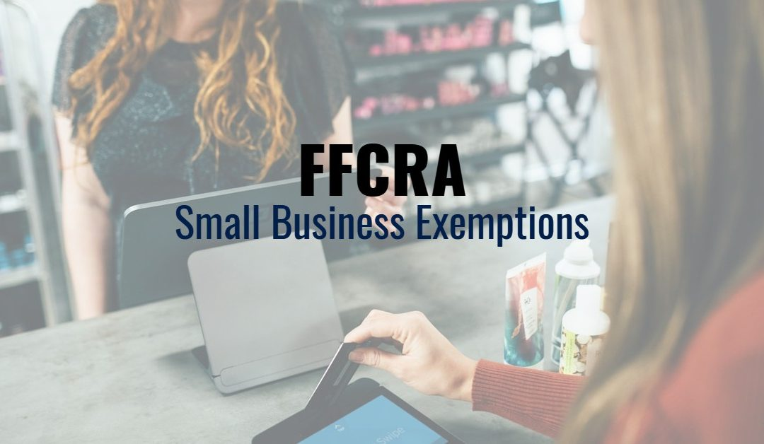 FFCRA Small Business Exemptions
