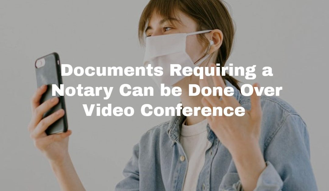 Emergency Video Notarization and Witnessing