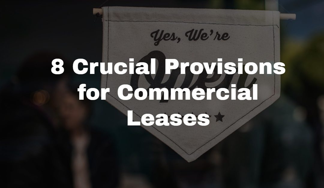 Commercial Lease Provisions