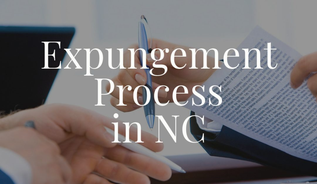 Expungement Process in NC