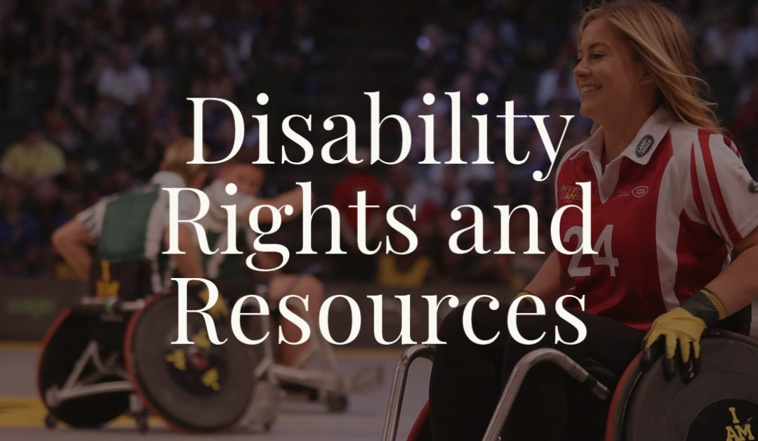 Disability Rights and Resources